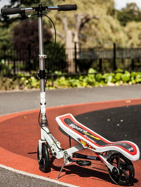 XLD Space Scooter – the ultimate rock and roll transportation
