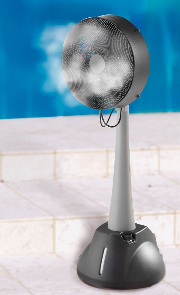 Hoseless Evaporative Cooling Fan – Brace yourselves, summer is coming