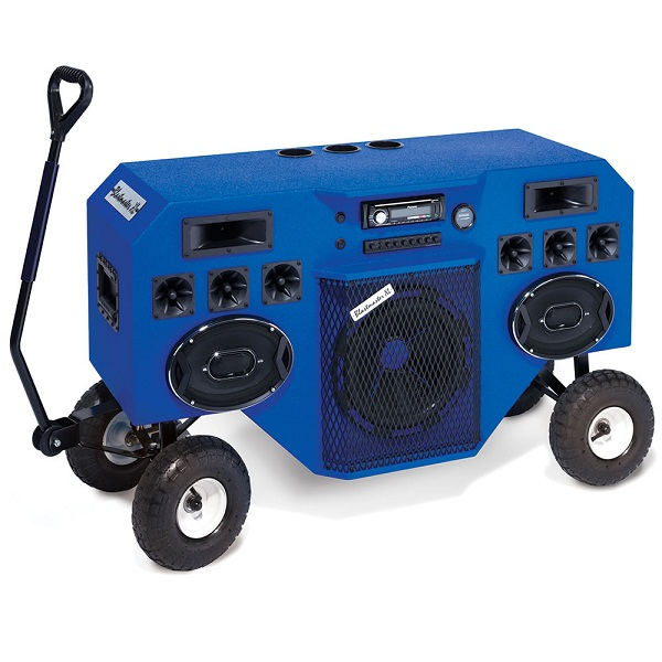 The Mobile Blastmaster will lay down the beats