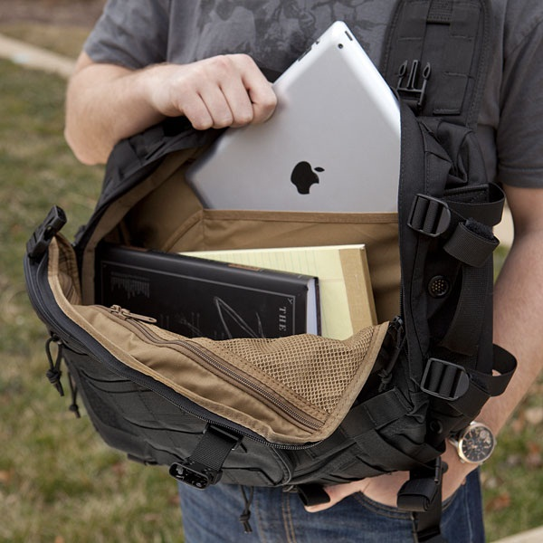 Switchback Laptop Sling Pack is no ordinary bag of holding