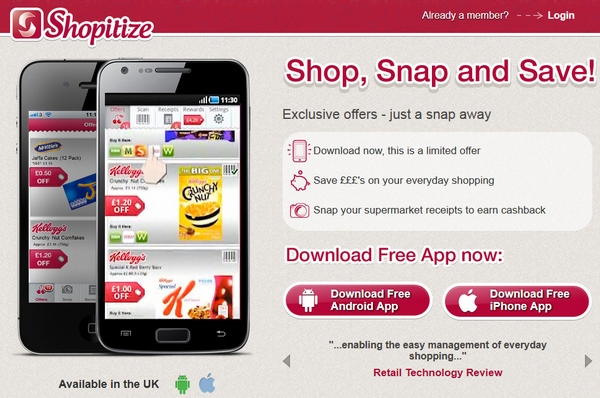 Shopitize – your smartphone is about to revolutionize the shopping business