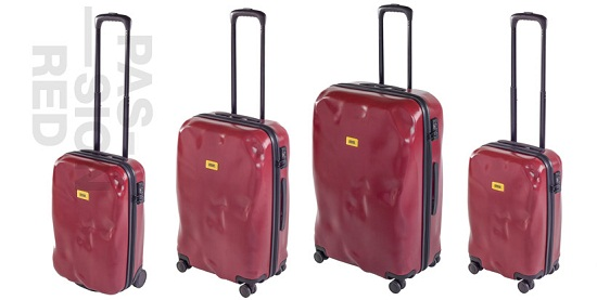 Crash Baggage looks like it's lived a hard life, even though it's brand new