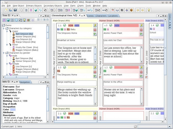 StoryBook – open source novel writing software will make you a millionaire…maybe [Freeware]