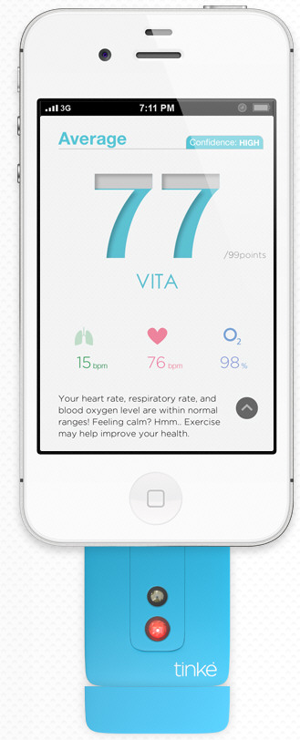 Tinke Wellness Monitor – keep yourself in good shape with your thumb [Review]