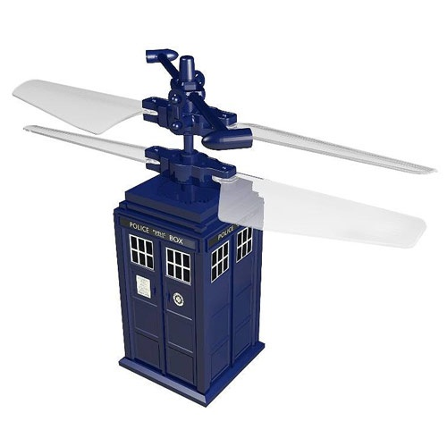 Doctor Who RC TARDIS – care to take the blue box for a spin?