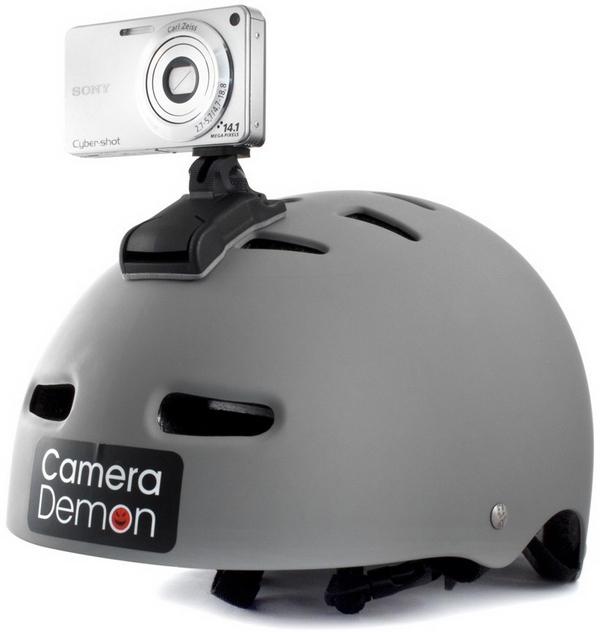 Camera Demon – fix any compact digital camera to a sports helmet and fly Jimmy, fly…