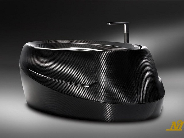 Carbon Fiber Bathtub is opulence at its finest