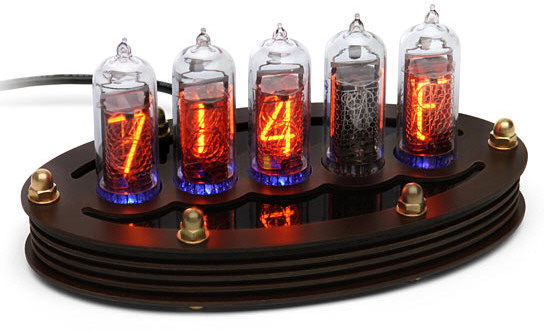 DIY Nixie Tube Thermometer Kit – turn your desk into a magnificent retro museum of cool