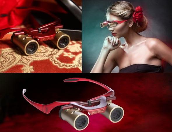 Kabuki Glasses -modern opera glasses that have auto-focus!