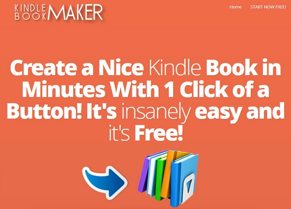 Kindle Book Maker – free online service makes it easy to create your ebook blockbuster