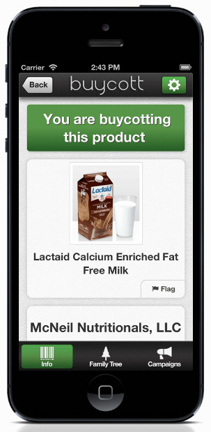 Buycott – finally there's a guilt free way to shop [Freeware]