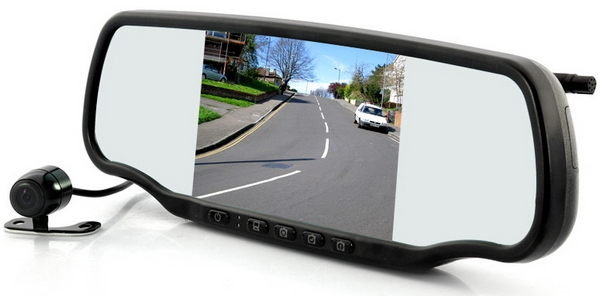 Car Mirror Bluetooth Dashcam GPS Speed Detector has more on-board tech than the Space Shuttle