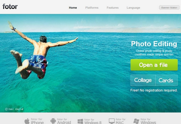 Fotor – image editing for everyone…and we mean everyone [Freeware]