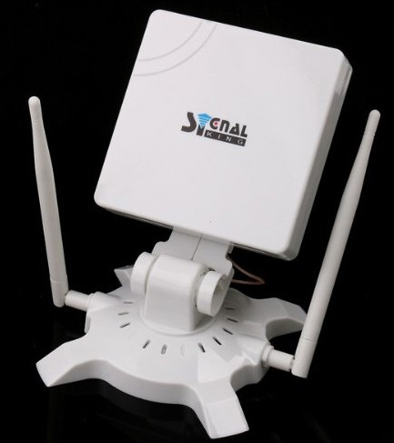 Signal King High Power WiFi Antenna – grab an Internet signal from up to 3 kilometers away and WIN!