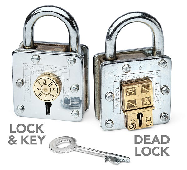 Houdini Puzzle Lock – never reveal the trick and you'll never lose your stuff