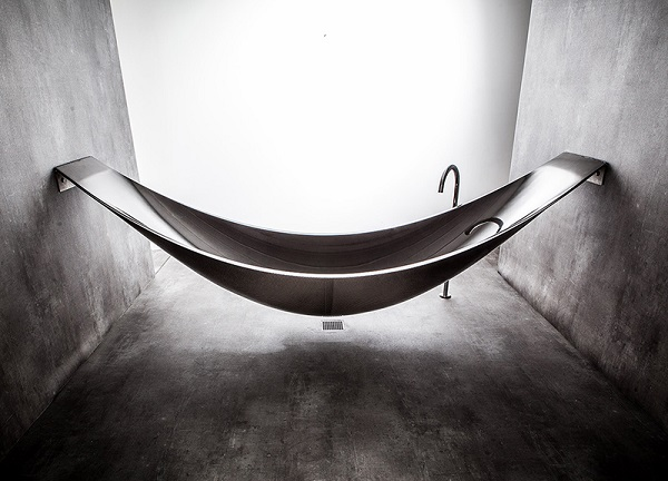Have you ever wanted to take a bath on a hammock?