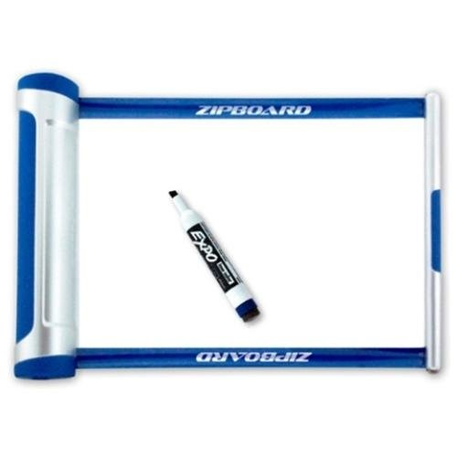 The Zipboard is a retractable whiteboard – write when you need it the most
