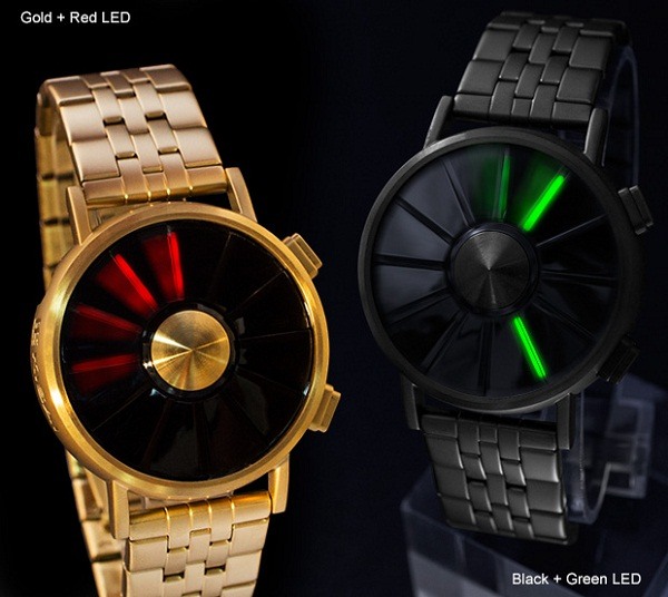 Kisai Blade LED Watch – the only constant is change