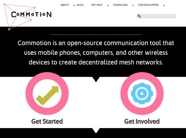 Commotion – open source tools to create your own private internet [Freeware]