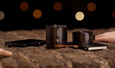 sonydscqx10lens Sony DSC QX10 Lens   turns your smartphone into an instant DSLR