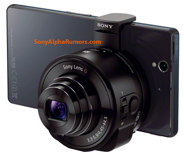 sonydscqxlens Sony DSC QX10 Lens   turns your smartphone into an instant DSLR