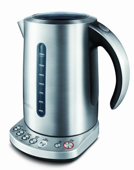 Breville Variable-Temperature Kettle – makes you the fine cup of tea you deserve