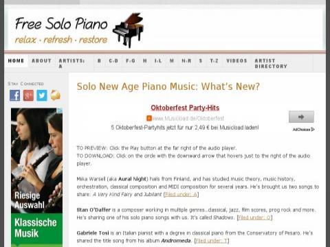 Free Solo Piano