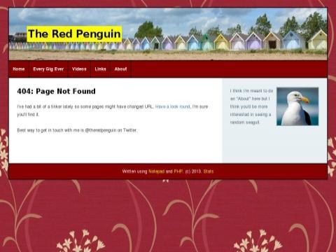 Mr Red Penguin