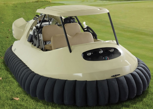 BW1 Golf Cart Hovercraft – forget about water hazards, just have fun