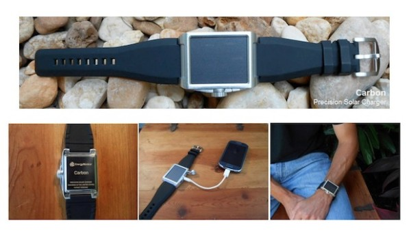 Carbon Precision Solar Charger – why carry a charger when you can wear it?