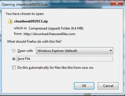 cheatbookDatabase2013i
