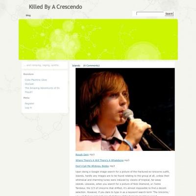 Killed By A Crescendo