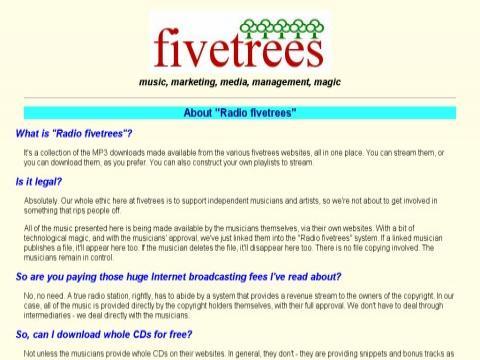 fivetrees.com