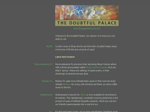 The Doubtful Palace