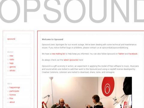 opsound.org