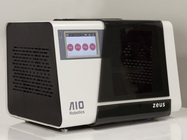 Zeus – the world's first all in one 3D printer, copier, scanner