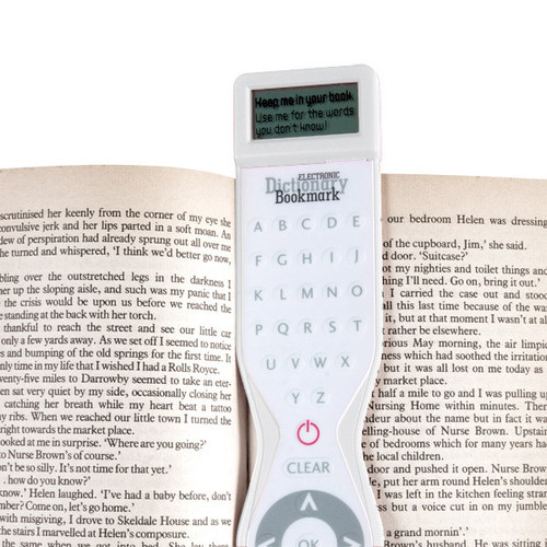 Electronic Dictionary Bookmark – add some digital intelligence to your book reading habits