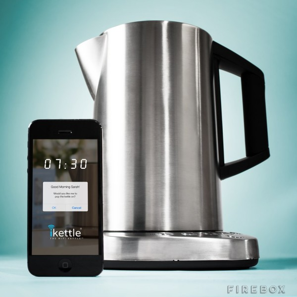 iKettle – lets you boil your kettle with your smartphone