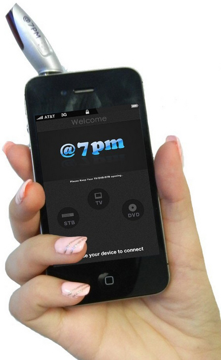 Looq @7pm – the Universal Remote Control Dongle For Smartphones