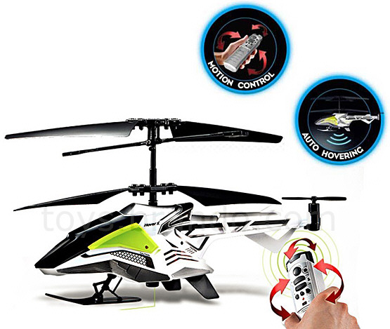 SilverLit Motion Control Helicopter – fly it with a flick of the wrist