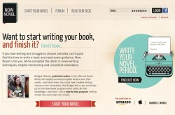 Now Novel – step by step online program promises to help you write your novel and get rich