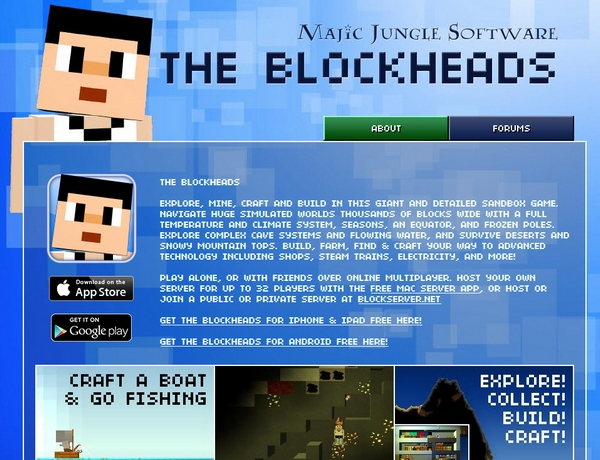 The Blockheads – the most scarily addictive game we've played for a long while [Freeware]