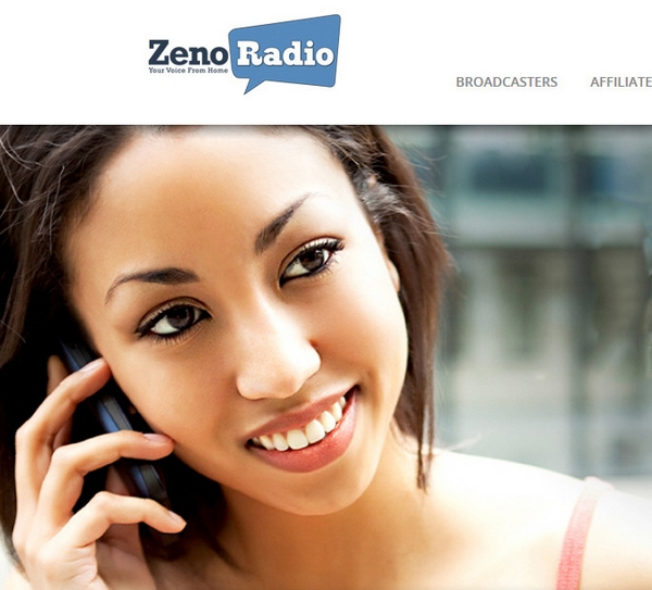 ZenoRadio – new service provides streaming radio broadcasts via a phone call, no need for expensive smartphones and data