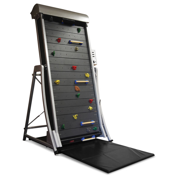 Climbing Wall Treadmill – as tall as you need it to be in just 10.2 feet