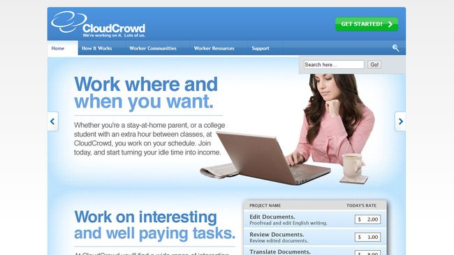 CloudCrowd.com - Earn Cash Completing Small Online Tasks