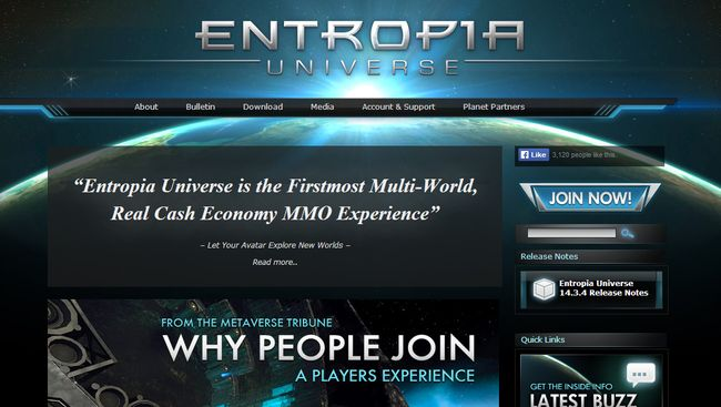 EntropiaUniverse.com - Wander From Planet To Planet Fighting, Trading And Getting Rich