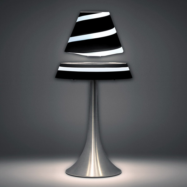 Levitron Lamp with Levitating Shade – Bringing a whole new meaning to 'light'
