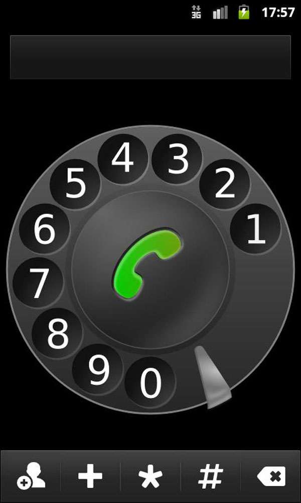 Retro Rotary Dialer for Android Phones