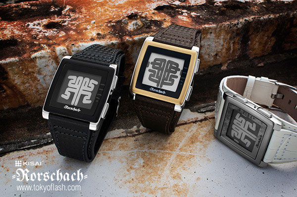 TokyoFlash Kisai Rorschach Watch – Psychological evaluation or just a cool way to tell time?