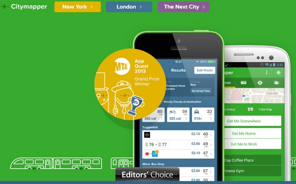 CityMapper – the absolutely essential city transport guide for your phone [Freeware]